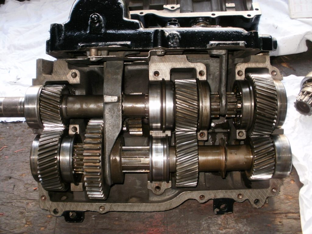 Überholtes ZF G35 Aphon Getriebe